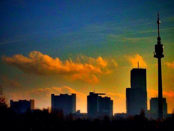 Skyline DC Tower Donau Pictureoftheday