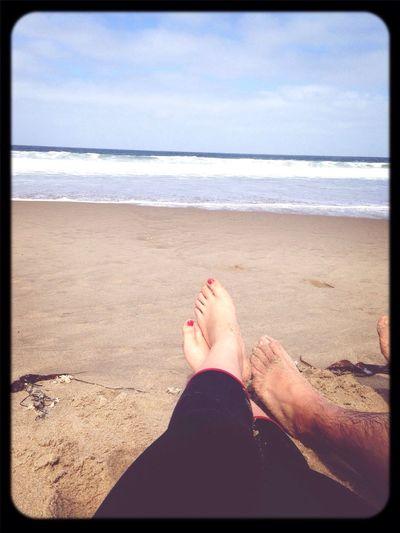 California is my home. Marina State Beach Enjoying Life Relaxing💕
