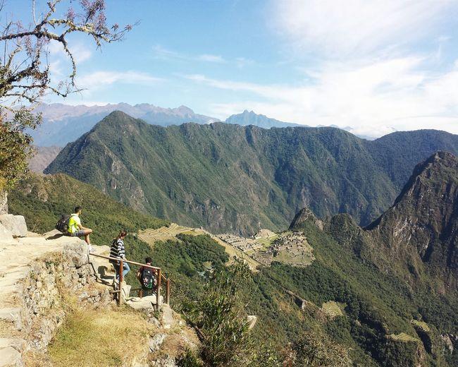 The View Machu Picchu Hiking Peru South America Trail Mountains Adventures