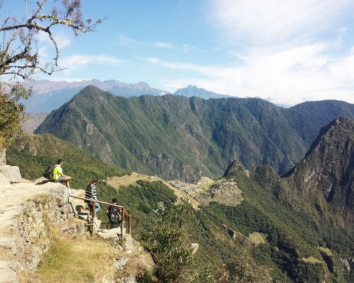 The View Machu Picchu Hiking Peru South America Trail Mountains Adventures