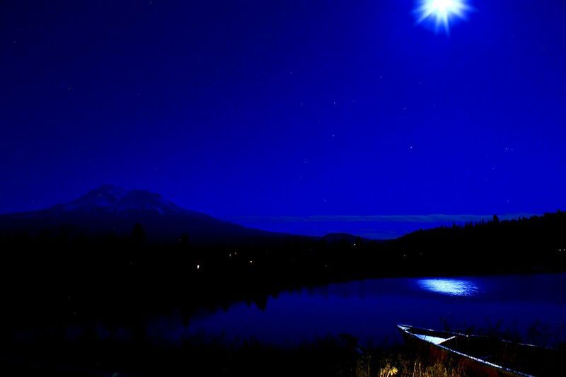Hidden Gems  My backyard Lake Shastina C.a Moonlight Lakeshore Nightphotography Reflection Diamond Mafia Studios Diamond Mafia Photography