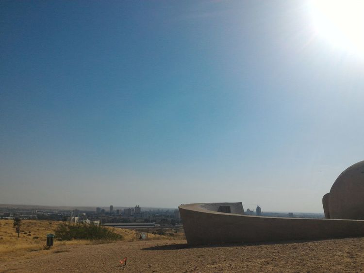 Be'er Sheva Israel Soldiers Monument View Cityscapes Architecture