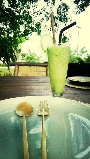 My favorite drink ever. FIN!!! ^_^...มะม่วงเบาปั่น