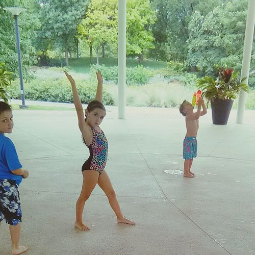 Togetherness Leisure Activity Summer Gymnastics❤ Elementary Age Water Park Outdoors Boys Sibling Love Siblings ♡ Oklahoma Living