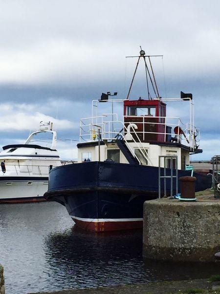 Trawler Fishingboat Harbour Nairn Boat Simple Photography Industry Scotland Rebelpunk