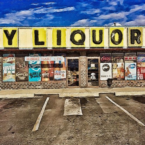 The Big Y LIQUORS ~ Excelsior Springs, Missouri USA ~ Kcac Dreamscapes & Memories Walker Evans Eye4photography  American Dream Snapshots Of Life FlakPhoto Beautiful Day In The Neighborhood... Streetphotography Colors Roadside America Landscape Dreamscapes FoToEdge Theappwhisperer Kcac Artist DreamScapes Life Is A Mirror And Will Reflect Back To The Thinker What He Thinks Into It -Ernest Holmes Inspired By Edward Hopper Relic From The Past Divelandscape, Divestreetoghrophy, Cityscape, The Week On EyeEm It Was Only A Dream Urban Landscape