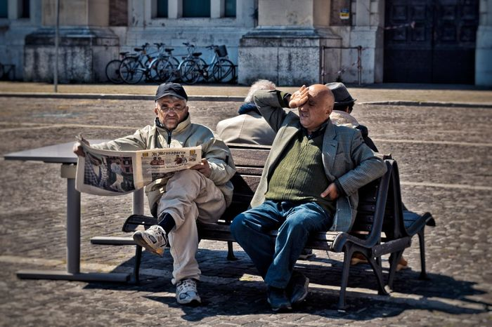 Sitting Senior Adult Full Length Senior Men Togetherness Adult Adults Only Day People Only Men Relaxation Outdoors Two People Young Adult Men Real People Males  Friendship Light And Shadow EyeEm Best Shots Scenics Nikond3300 Tourism The Past Ancient The Portraitist - 2017 EyeEm Awards The Street Photographer - 2017 EyeEm Awards