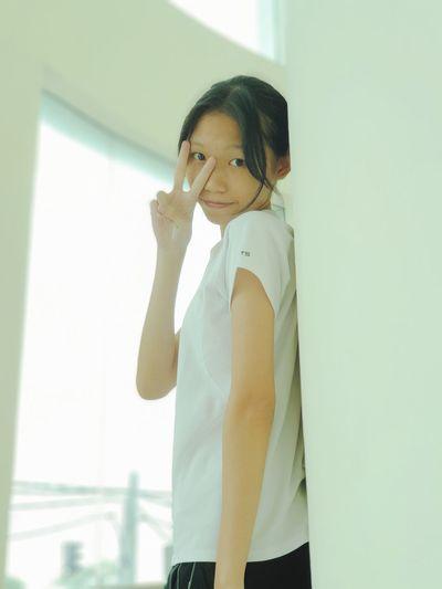 Wall Girl Asian