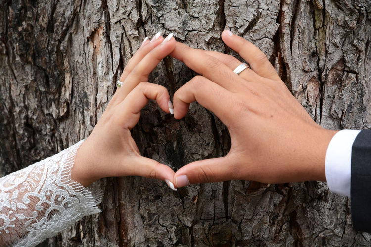 Close-up Hands Heart Heart ❤ Heartbeat Moments Nature Outdoors Tree Wedding Wedding Day Wedding Photography Weddingphotography