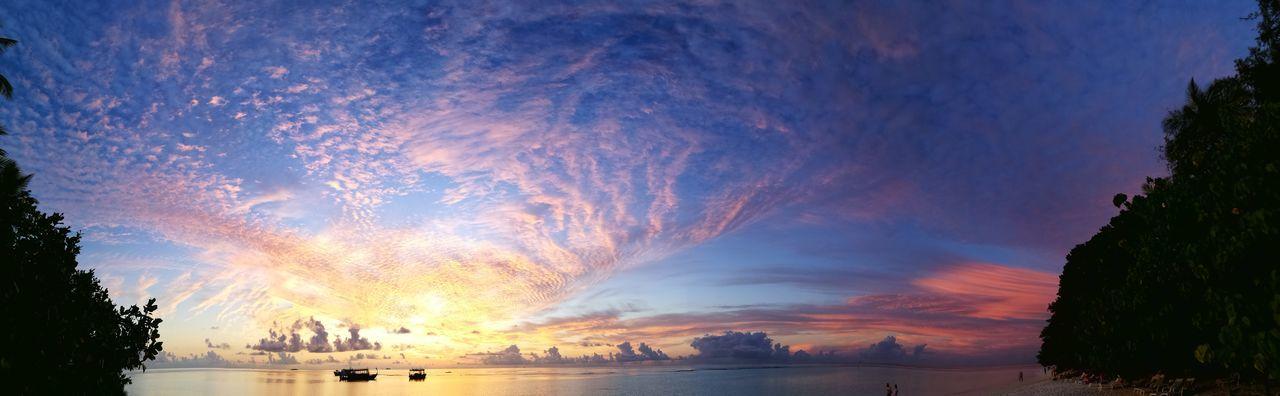 Sunset cloudy First Eyeem Photo