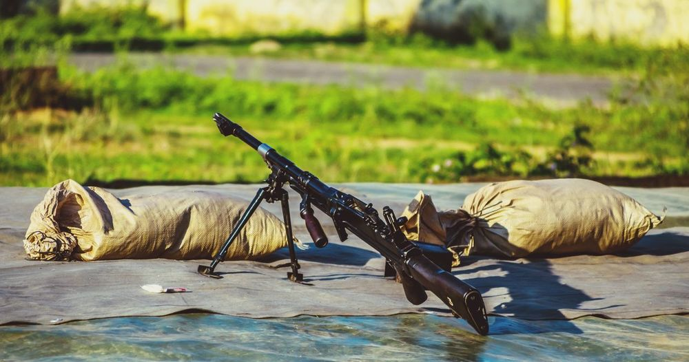 EyeEm Selects No People Nature Animal Themes Outdoors Day Respect War Field Rifle Army Military Weapon Stopwars Bullet Danger Fire Machinegun IndianArmy Fight Gun Beauty Rapid TRIGGER Bestoftheday