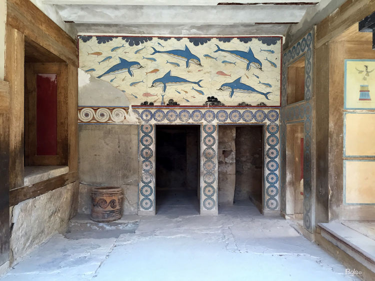 Architecture Art Crete Greece Historical Building IPhone IPhoneography Knossos