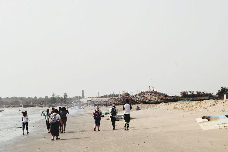Beach Sea Crowd Sand Water Full Length Sportsman Sky