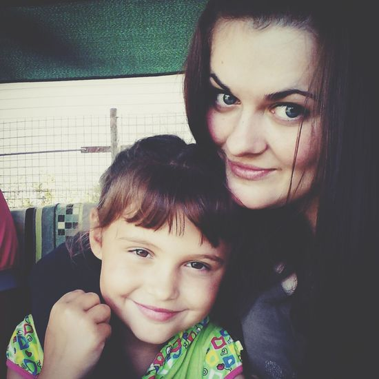 С моей малышкой)в этом году нам в 1-й класс)))