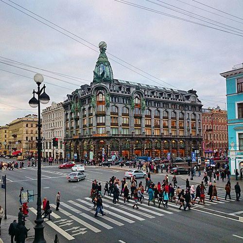 петербург Питер Спб центр невскийпроспектзингердомкнигиофисвконтактевкосеньосень2014