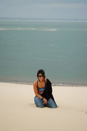 duna pilar, golfo de Vizcaya Young Women Water Full Length Sea Sitting Beach Women Sand Relaxation Politics And Government