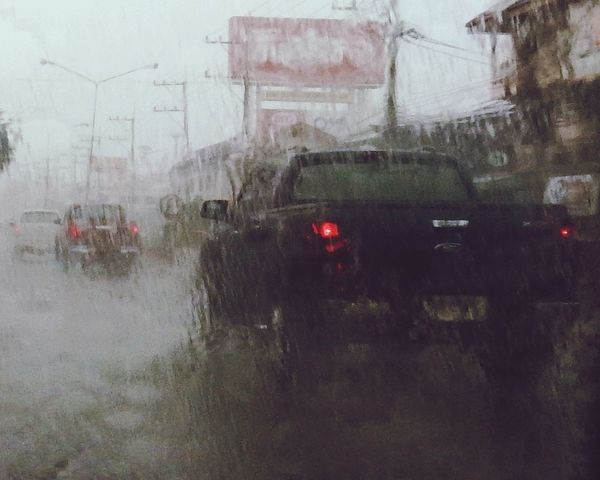 Rainy Days Wet Season Traffic Lights On Pouring Vision Concentration Happy Time Water Need Drought Humid Power Of Nature Power Supply On Off Annoying Worthit Feel The Journey Joy Of Life On The Way The Drive. The Drive