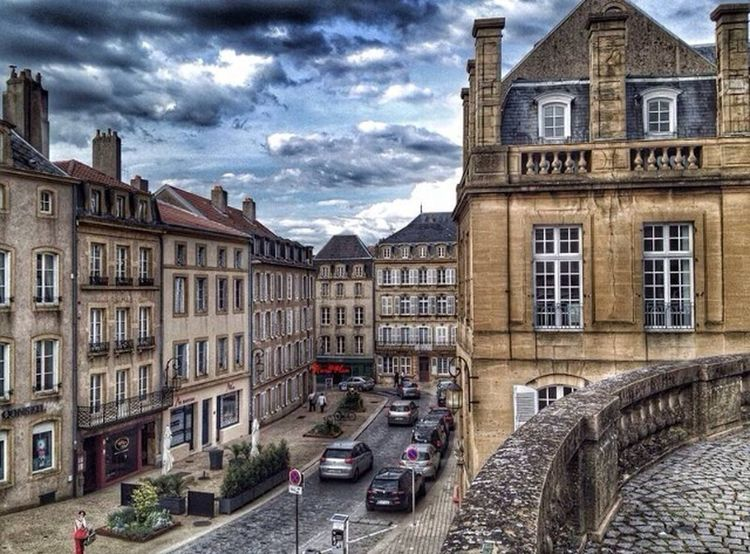 Metz France Street Photography Clouds And Sky Traveling