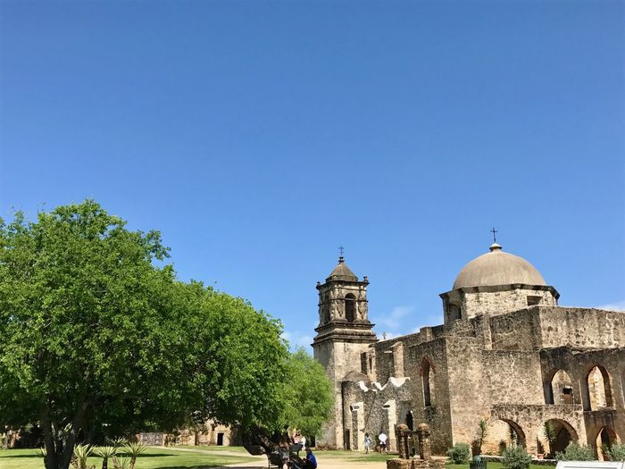 View of church against clear sky