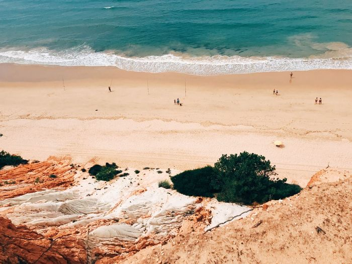 Minimalism VSCO Minimal Land Beach Sea Water Sand Nature Beauty In Nature Wave Real People Scenics - Nature Motion High Angle View Day People Lifestyles Outdoors Plant The Great Outdoors - 2018 EyeEm Awards The Traveler - 2018 EyeEm Awards EyeEmNewHere My Best Travel Photo Stay Out The Mobile Photographer - 2019 EyeEm Awards The Minimalist - 2019 EyeEm Awards