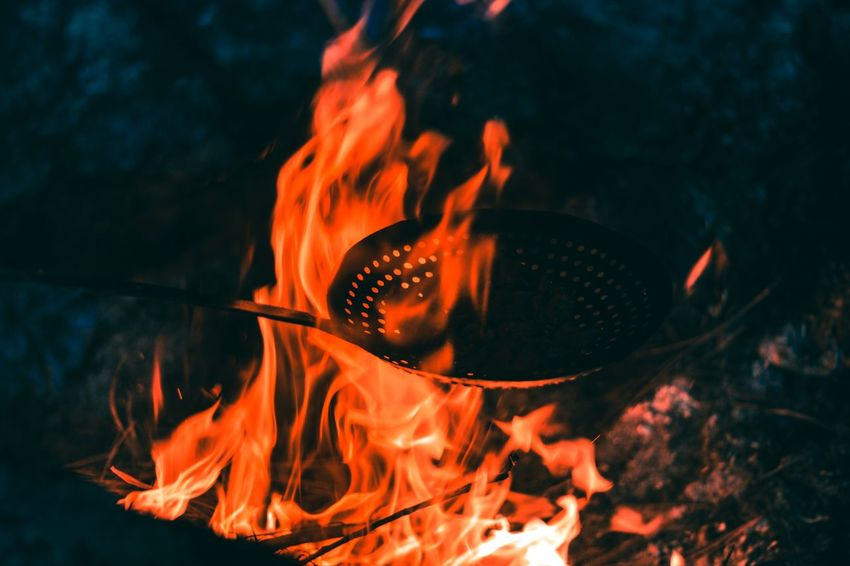 barbecue night .. Travel Nature Wild Raw darkness and light Yercaud Hills Chickens Cooking Barbecue Night Midnight Adventure Remote Selective Focus Tamilnadu Flame Fry Flame Heat - Temperature Burning Close-up Bonfire Campfire Firewood Camping Woodpile Fire - Natural Phenomenon Fire Heat