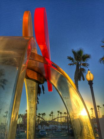 Sunshine ... In Mission Beach , California