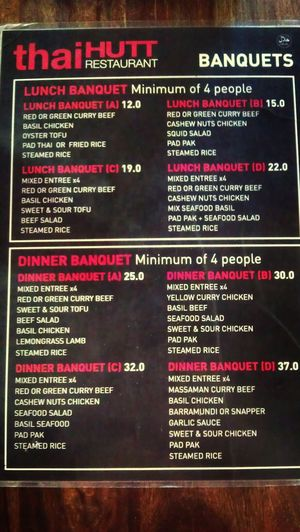 Very fairly priced I think... The Menu Restaurant Banquet Taking Photos