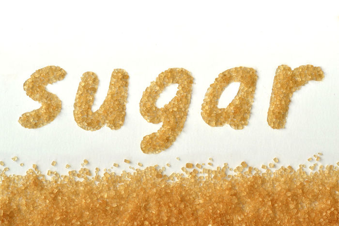 Word sugar written with brown sugar Eating Natural Raw Sugar Word Brown Cane Close Up Creative Diabetes Eat Energy Food Glucose Grain Health Healthy Ingredient Kitchen Macro Nutrition Sweet Sweetener Unrefined Written