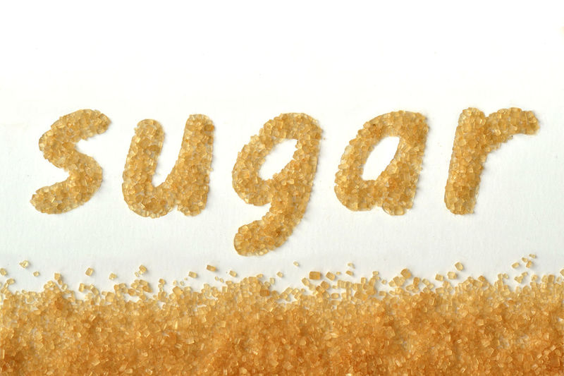 Word sugar written with brown sugar Eating Natural Raw Sugar Word Brown Cane Close Up Creative Diabetes Eat Energy Food Glucose Grain Health Healthy Ingredient Kitchen Macro Nutrition Sweet Sweetener Unrefined Written