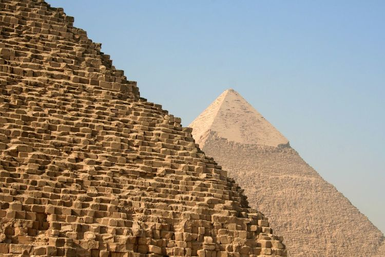 Ancient Ancient Civilization Architecture Cairo Close Up Culture Cultures Day Design Egypt Egypt Cairo Full Frame Geometry History No People Outdoors Pavement Piramid Piramids Pyramid Religion Ruined Stone Material Temple Tradition