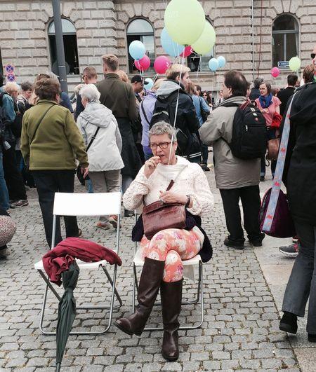 Berlin Konzert Redballon