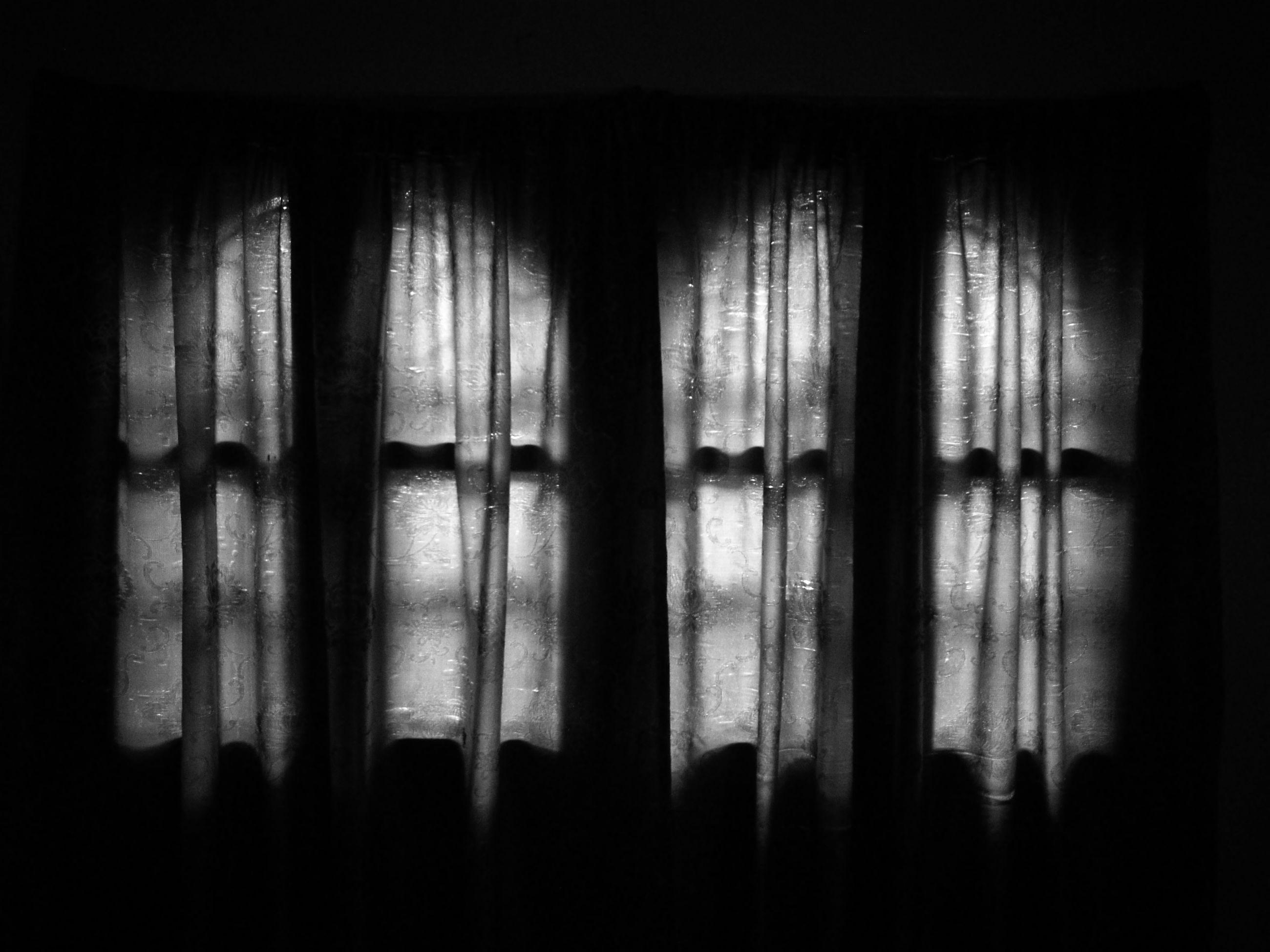 window, full frame, darkroom