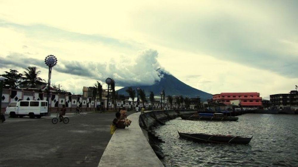 Legazpi City Mayon Volcano Philippines