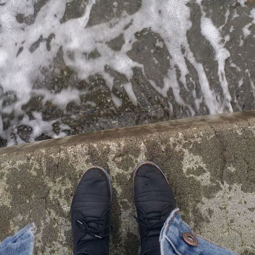 Alex and I went to the beach today it was so nice Pugetsound Ocean