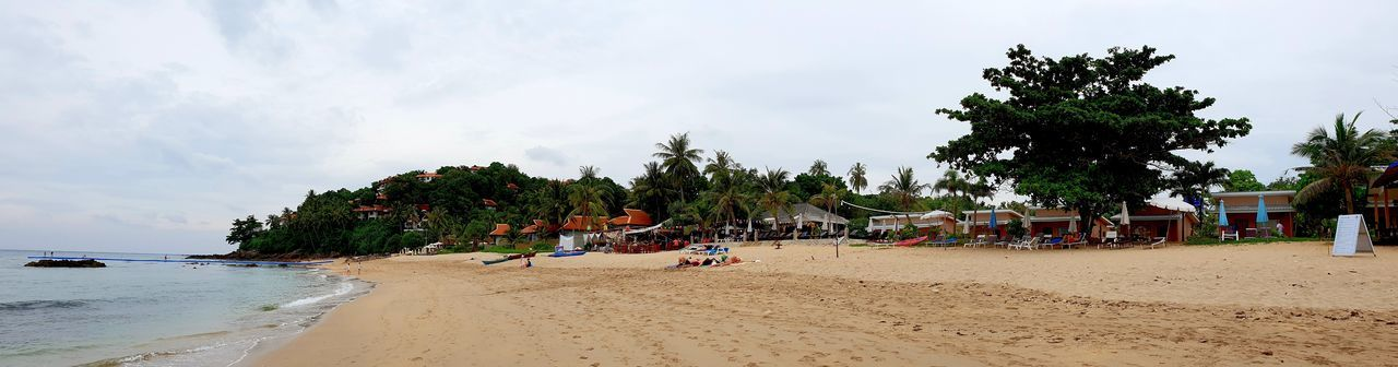Panorama Pic of southern part of Khlong Khong Beach with Lanta Palace right and Wariwarin hotel on hill. this was, before 'Prabuk' reached nearby .... Ko Lanta Khlong Hoi Kong Beach Hill Sandy Beach Travel Travel Destinations Wanderlust Tourist Destination