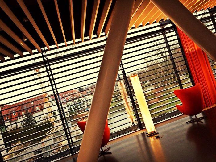 Nice! Inside the new library. #BadVilbel