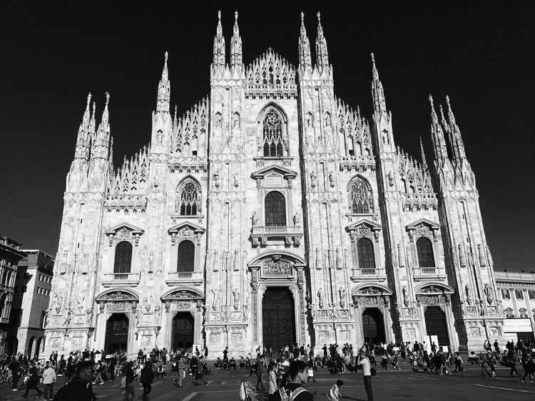 Domo Cathedral Milan Italy Chruch