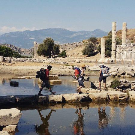 Walking Through History ☺ Letoon Letoonialife Mugla Fethiye Antalya Turkey Türkiye Apollon Kas Ovidius Zeus Leto Artemis Antikkent Hellenistic  Likyayolu Likya Lycia Lycianway Lyciatrekking Trekking Walk