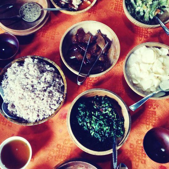 Indoors  Table Ready-to-eat Food Bhutan Town Travel Destinations Travel Suburbun Foodsporn