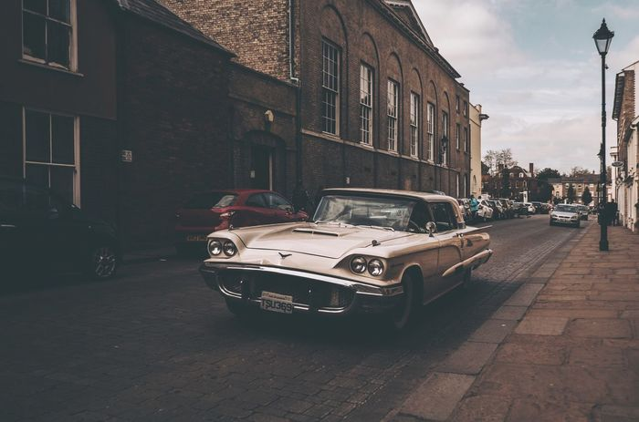 Old American muscle roaming the streets. EyeEm Best Shots EyeEmBestPics EyeEm Best Edits EyeEm Masterclass Architecture Building Exterior Built Structure Street Transportation Land Vehicle Mode Of Transport City Outdoors Sky Day No People The Street Photographer - 2017 EyeEm Awards Street Photography Streetphotography Streetphoto Street Life Road Streetphoto_color Streetlife Street Photo EyeEmNewHere