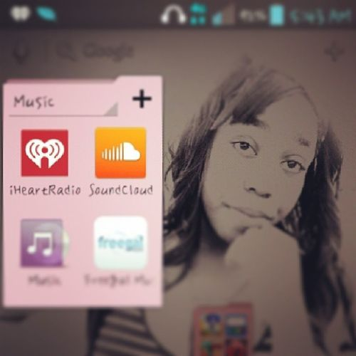 This the most active folder in my phone. Iheartradio Soundcloub 021413 Myyummyyumcan