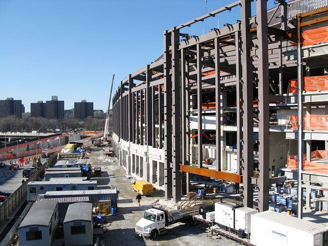Construction Site Yankee Stadium The Bronx Yankees