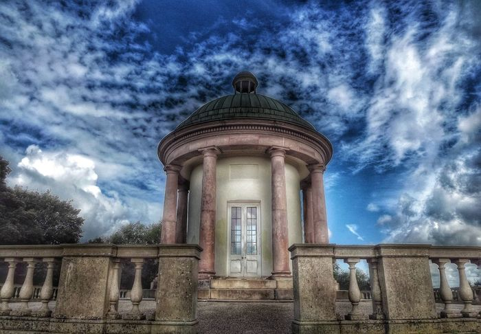This is known as the Temple in Heaton Park Manchester and was built around 1800 and stands on one of the highest points in the City of Manchester and all I did on edit was to highlight the background which made the picture stand out The Temple Heaton Park Manchester UK Parks UK Parks Abstractions In Colors Creative Light And Shadow Color Photography EyeEm Masterclass Hdr_captures Fujifilm Colour Of Life Malephotographerofthemonth EyeEm Best Shots - HDR Capture The Moment Architectural Photography Architectural Design Architectural Heritage Old Buildings Pivotal Ideas Dramatic Angles