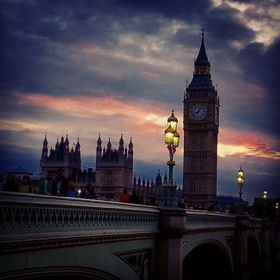 Londra Misterioso 2014 Bigben torre fascino england maestosita' tramonto westminster orologio summer poesia
