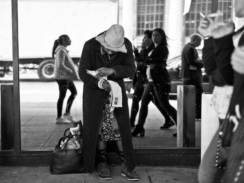 Monochrome Photography Photo The Week On Eyem The Street Photographer Black & White FUJIFILM X-T1 Lensculture EyeEm Best Shots - Black + White New York City EyeEm Gallery
