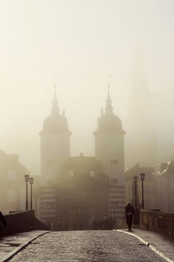 Showcase: December Foggy Morning old town