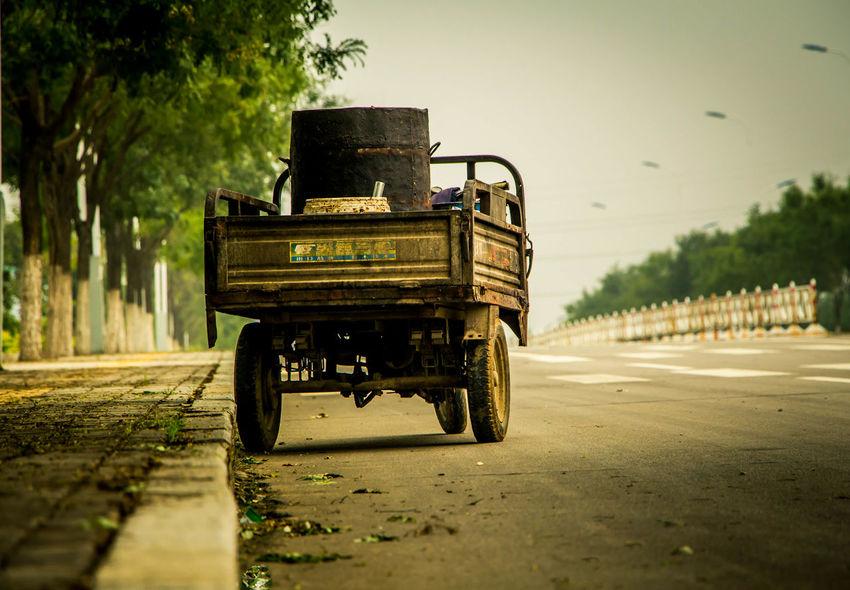 Roadside Shots Vehicles Offroad Vintage China