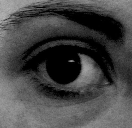 Eye Closeup Blackandwhite Self Portrait