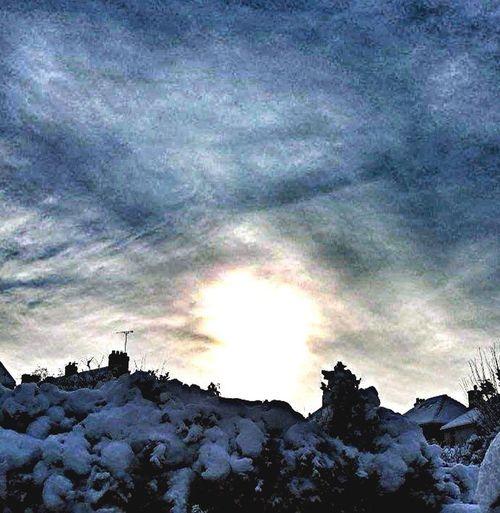Sky ,snow