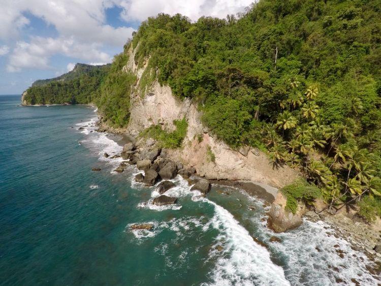 Anse Céron, nord Caraïbes Beach Beauty In Nature Cloud - Sky Holiday Island Martinique Sand Sea Sky Tropical Paradise